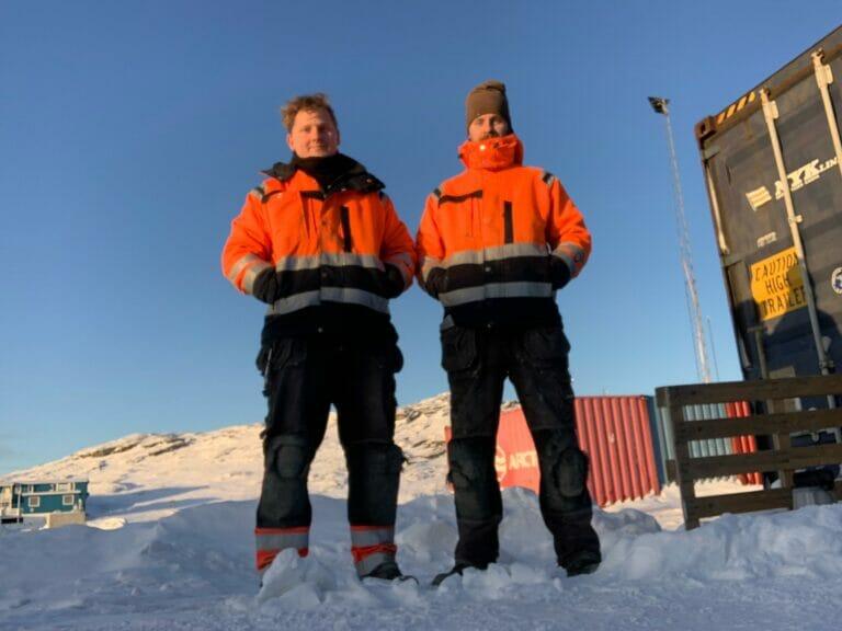 Persolit entreprenørfirma A/S HVAC teknisk isolering opgave på Grønland