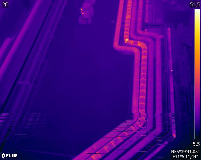 droneinspektion af bygninger med termisk kamera Persolit stilladsfirma A/S