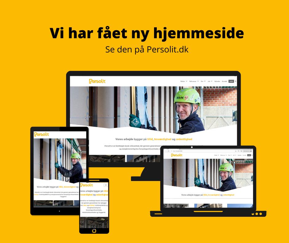 Persolit hjemmeside